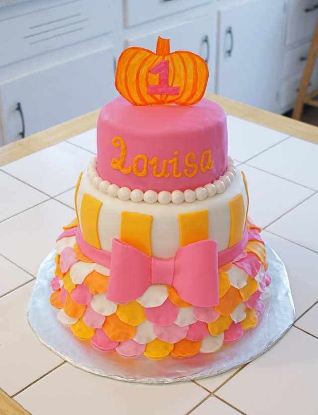 Orange Birthday Cake 10 Pink And Orange Cakes Photo Orange And Pink Birthday Cake Pink