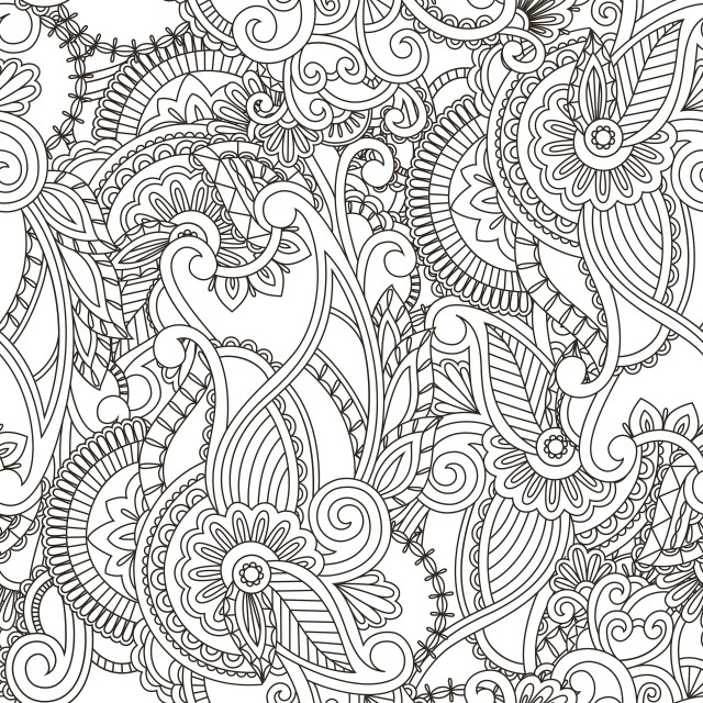 Paisley Coloring Pages Paisley Coloring Pages For Adults Lovely An Image From 33343334