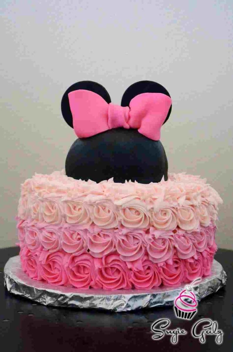 Remarkable Pinterest Birthday Cakes File Rhpinterestcom Minnie Rhrosebakescom Funny Birthday Cards Online Alyptdamsfinfo