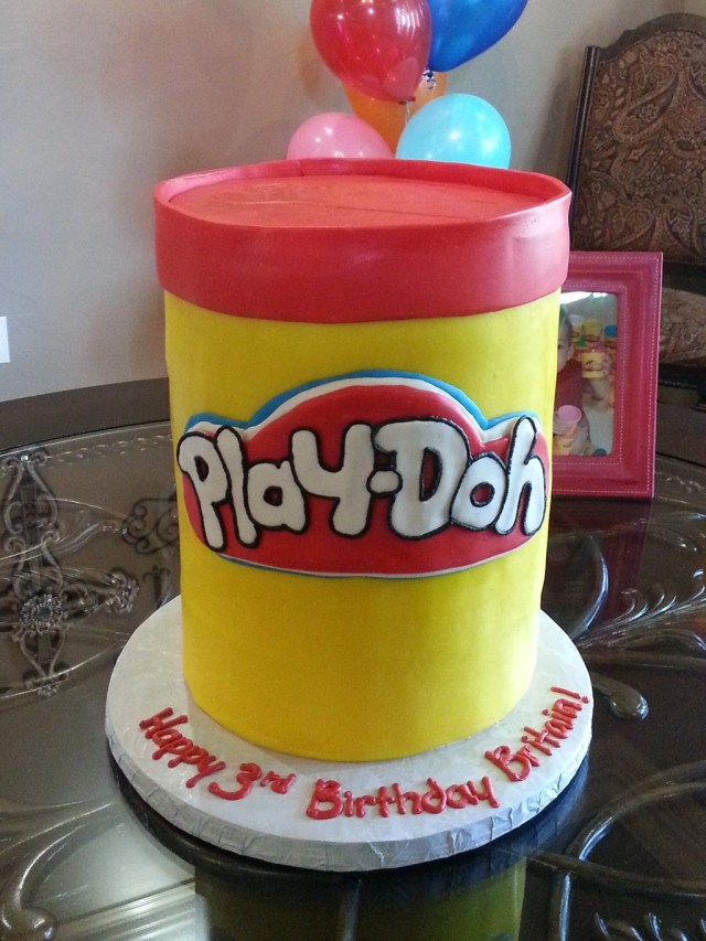 Play Doh Birthday Cake Another Cool Play Doh Cake Idea Play Doh Party Ideas Pinterest