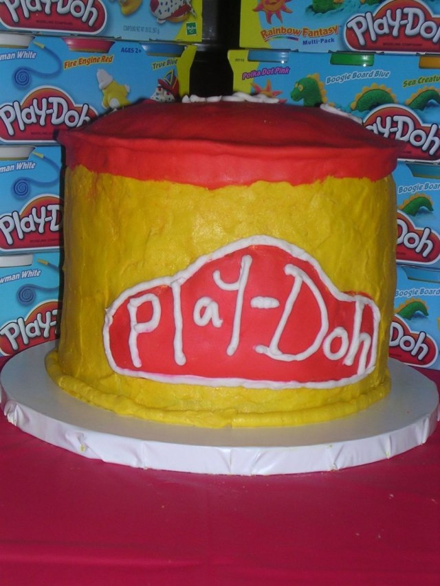 Play Doh Birthday Cake Play Doh Cake Cakecentral