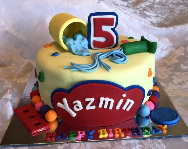 Play Doh Birthday Cake Play Doh Cake Kay Cake Designs
