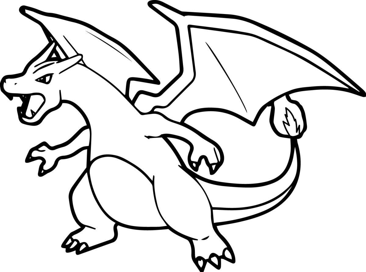 Pokemon Color Pages Pokemon Coloring Pages Charizard