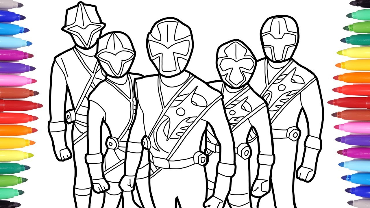 21+ Brilliant Picture of Power Ranger Coloring Pages ...