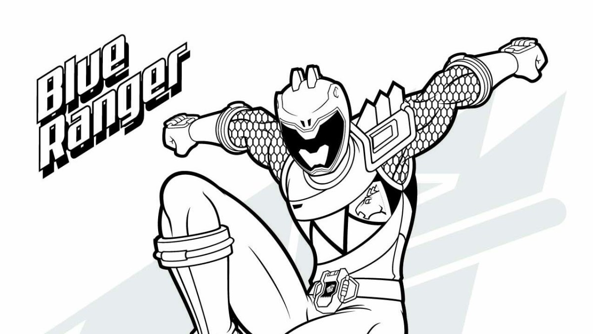Power Ranger Coloring Pages Power Rangers Coloring Pages ...