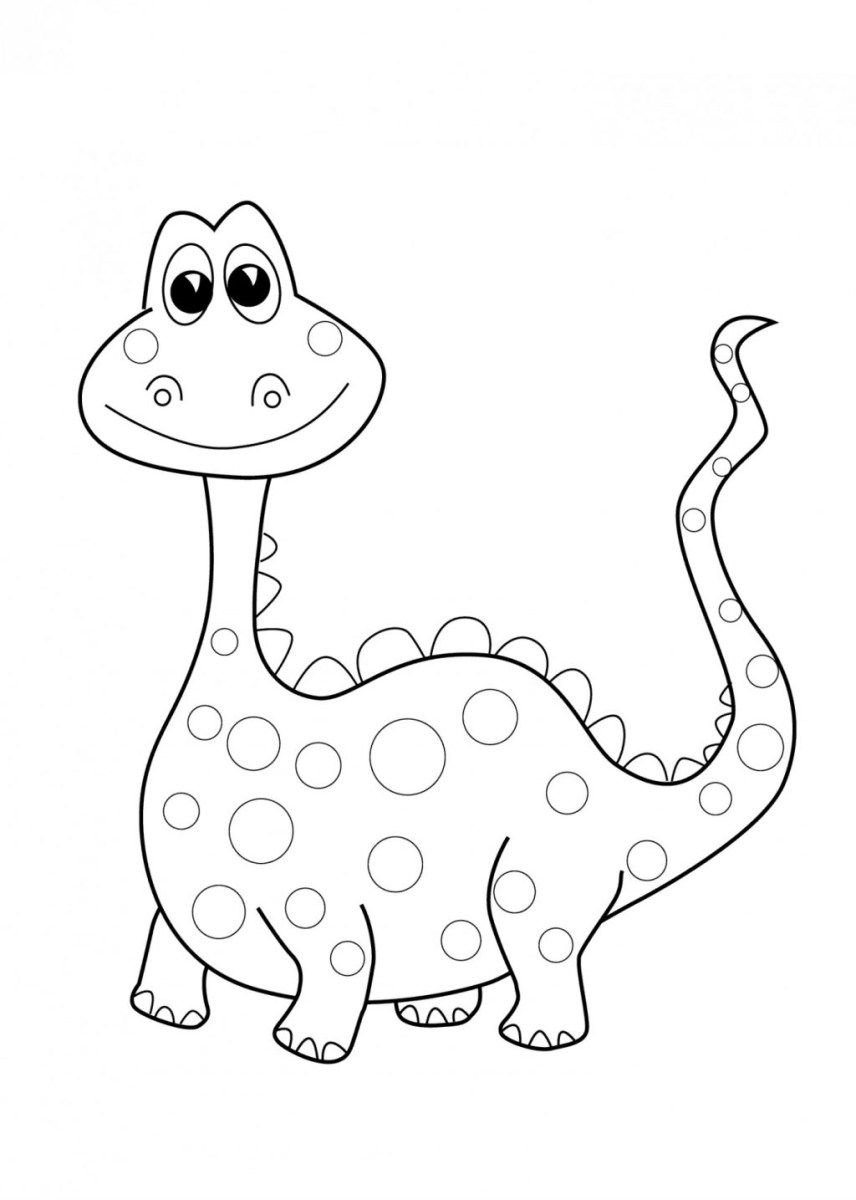 Preschool Coloring Pages Coloring Page Coloring Page Dinosaur Pages Preschool Depetta Free