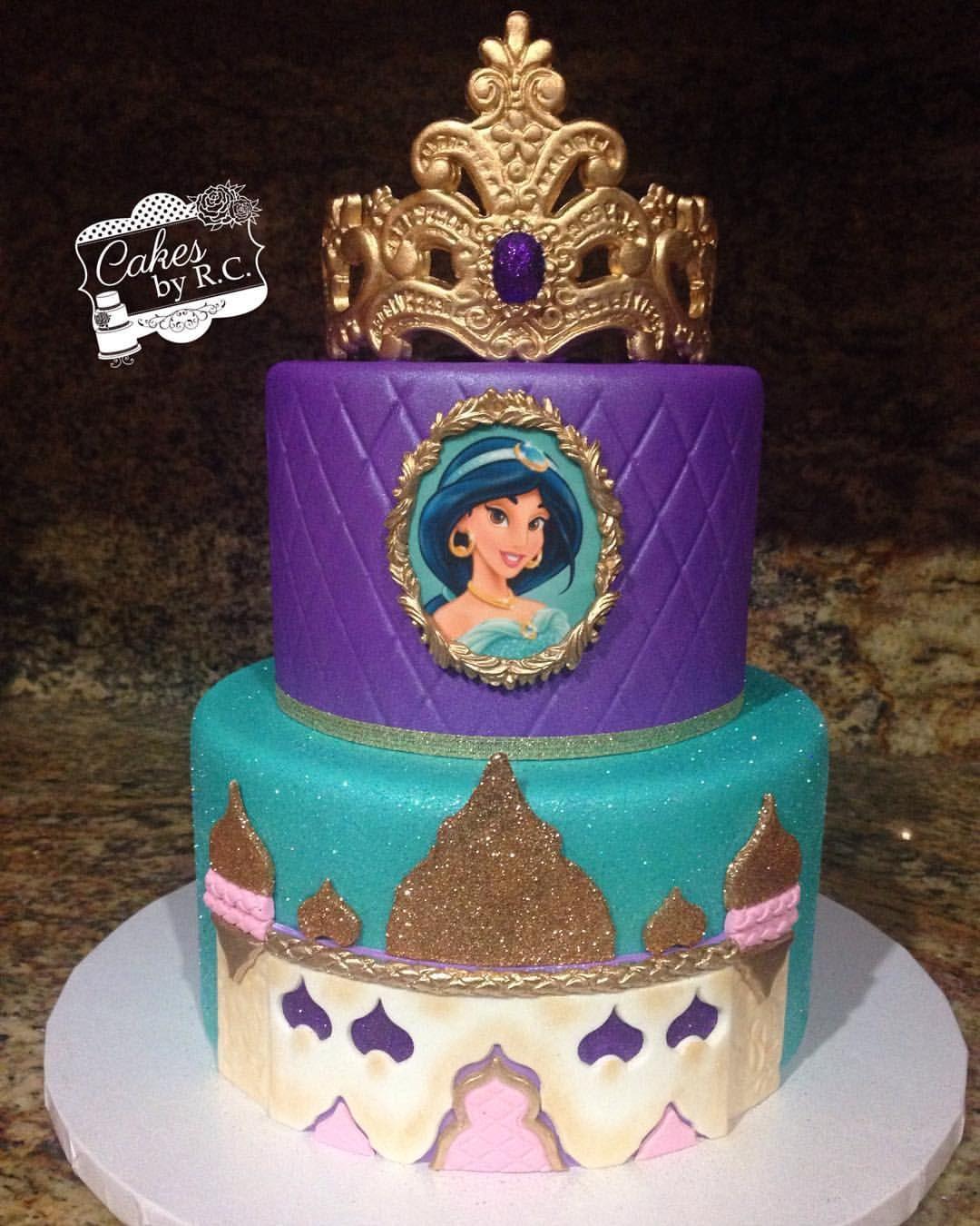 Magnificent 32 Amazing Photo Of Princess Jasmine Birthday Cake Birijus Com Funny Birthday Cards Online Bapapcheapnameinfo