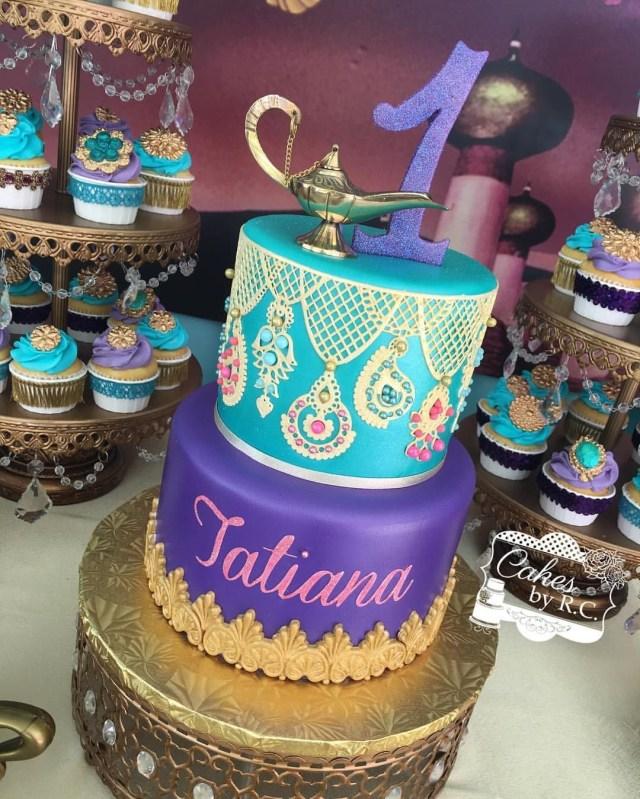 Princess Jasmine Birthday Cake Princess Jasmine Birthday Party Princess Jasmine Birthday Party