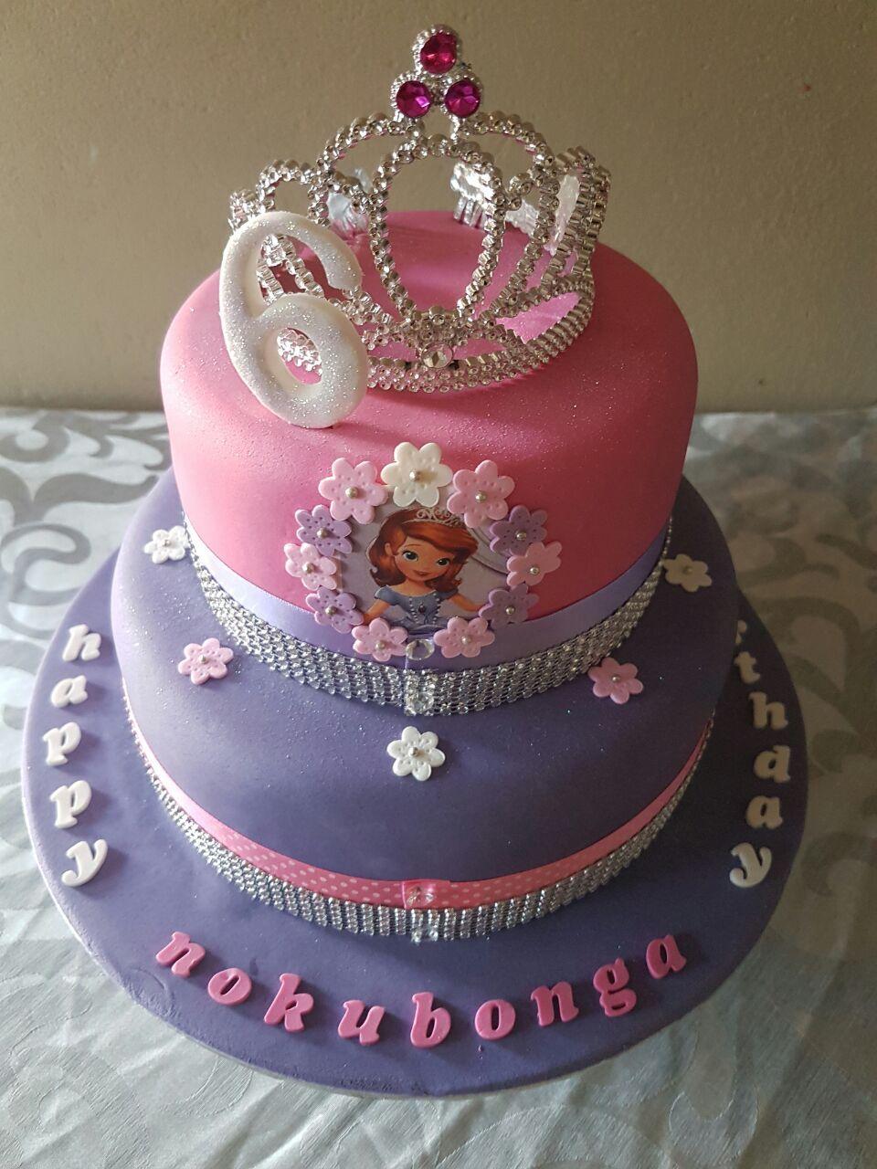 Magnificent 21 Wonderful Picture Of Princess Sofia Birthday Cake Birijus Com Personalised Birthday Cards Veneteletsinfo