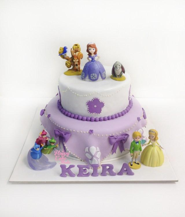 Princess Sofia Birthday Cake Princess Sofia Cake Happy Cake Studio
