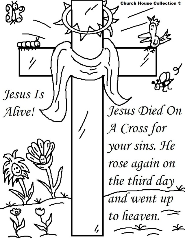 Printable Easter Coloring Pages 25 Religious Easter Coloring Pages Free Easter Activity Printables