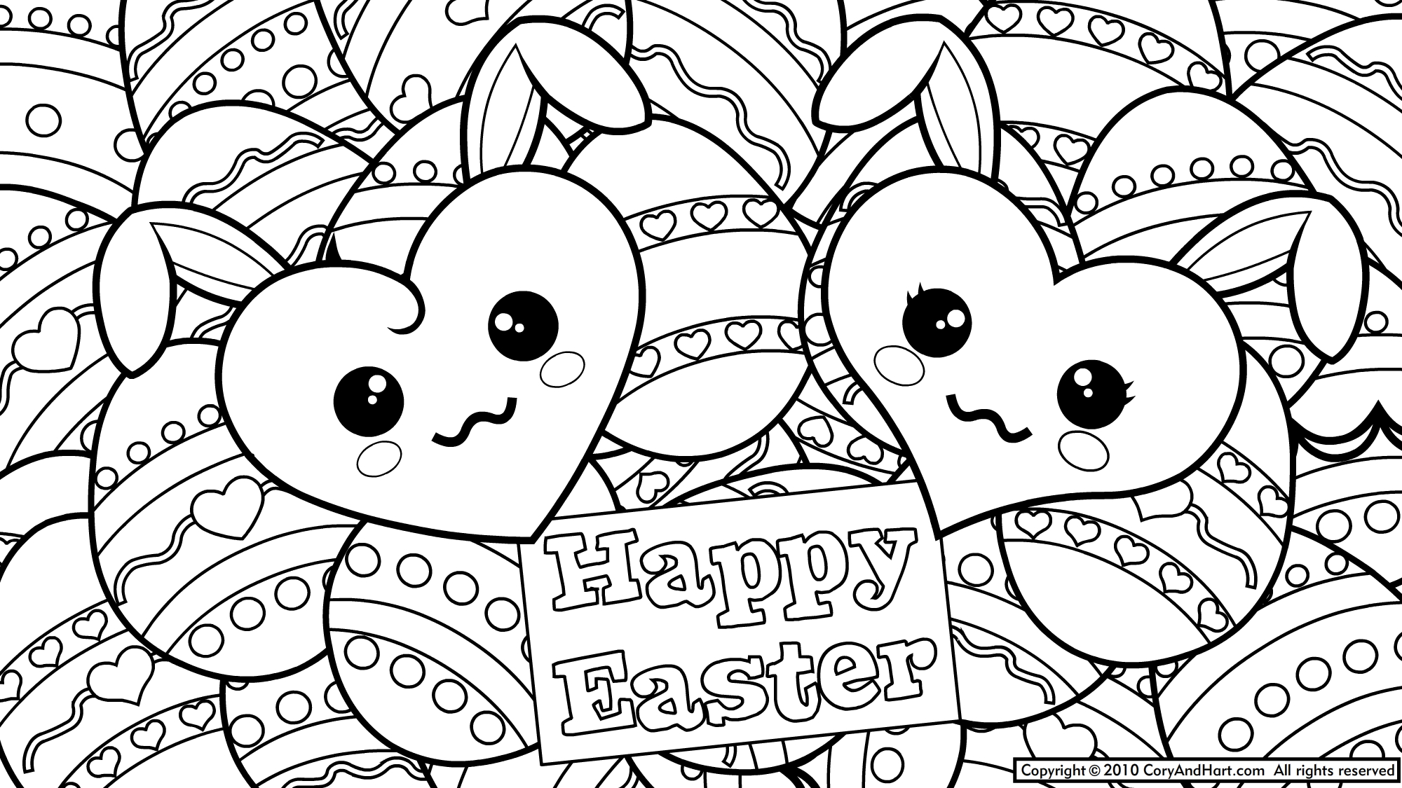 - 21+ Awesome Image Of Printable Easter Coloring Pages - Birijus.com