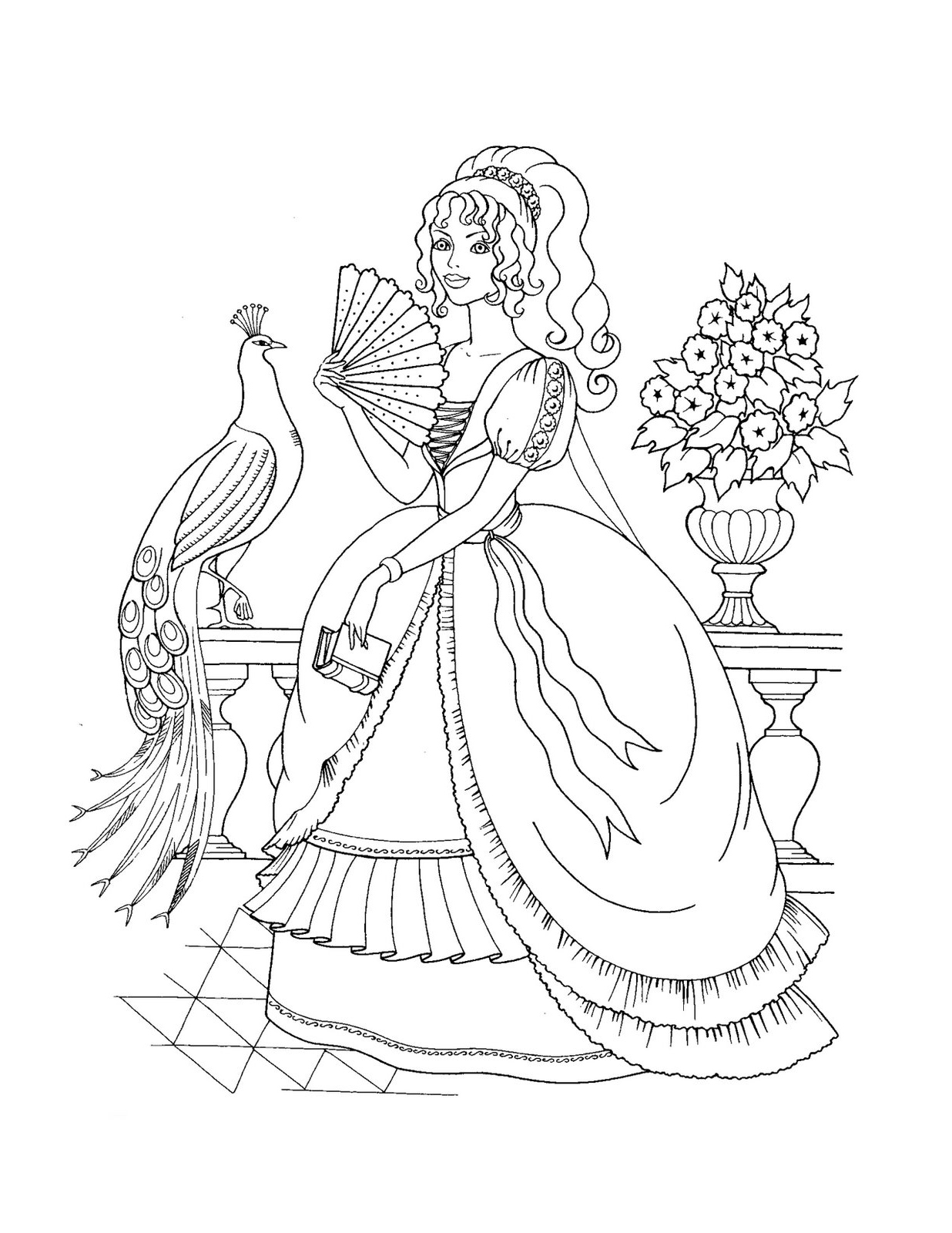 - 23+ Marvelous Photo Of Printable Princess Coloring Pages - Birijus.com