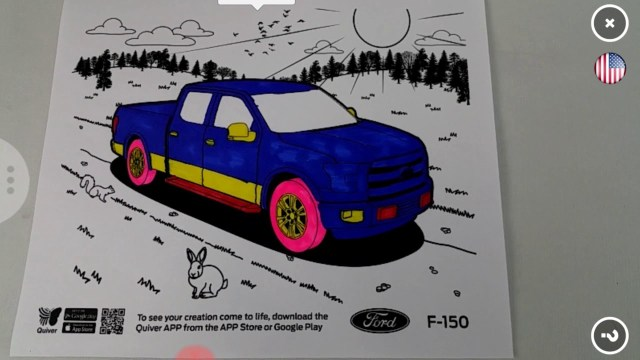 Quiver Coloring Pages Ford Truck Quiver Coloring Page Youtube