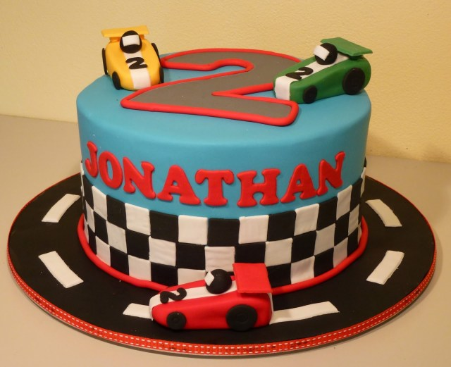 Race Car Birthday Cake 9 Racing Theme Birthday Cakes Photo Race Car Themed Cakes Race