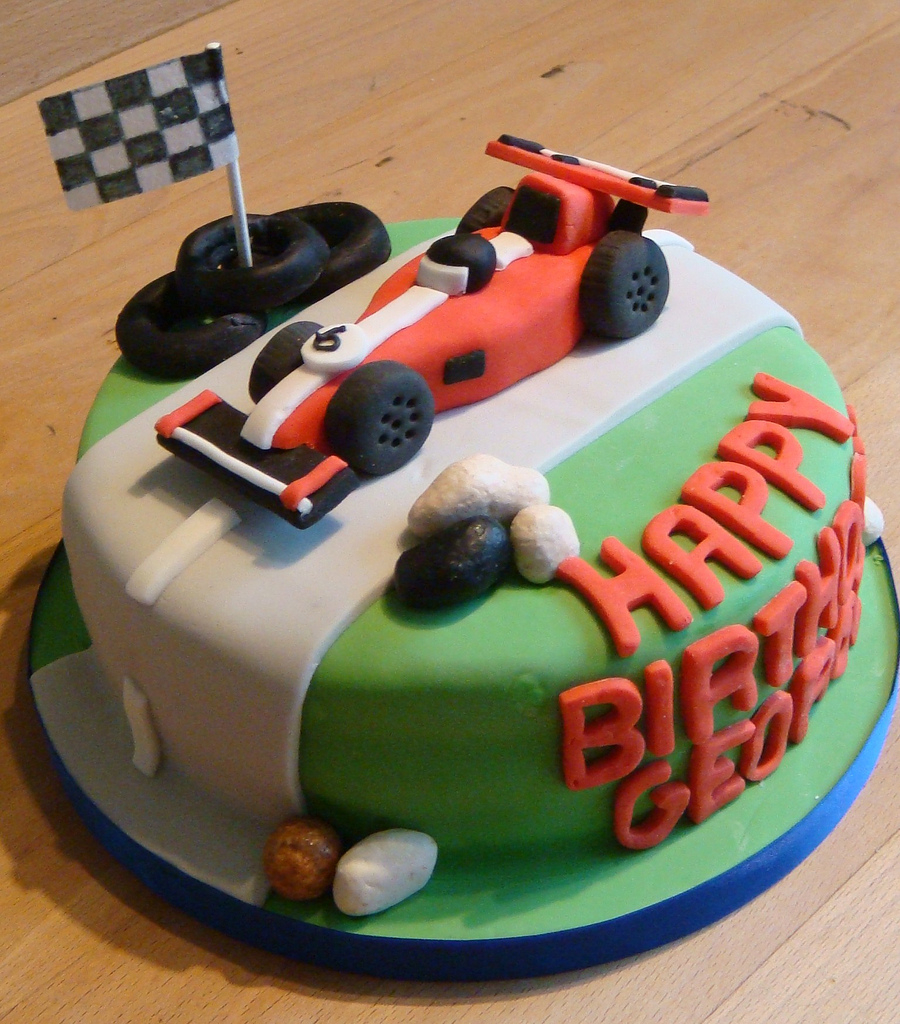 Fabulous Race Car Birthday Cake Racing Car Birthday Cake Cook A Doo Kitchen Funny Birthday Cards Online Elaedamsfinfo