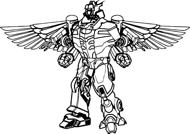 Robot Coloring Page 23 Power Rangers Dino Charge Coloring Pages Selection Free