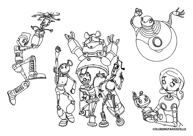 Robot Coloring Page Download Robot Coloring Pages 2 Armeniephotos