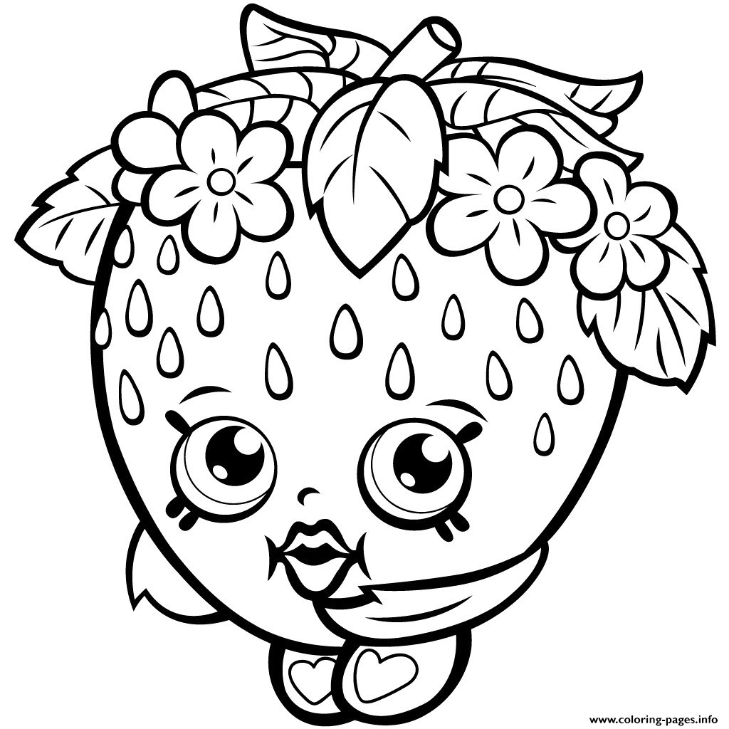 image regarding Printable Shopkins Pictures named Shopkins Coloring Webpages Towards Print Absolutely free Printable Shopkins