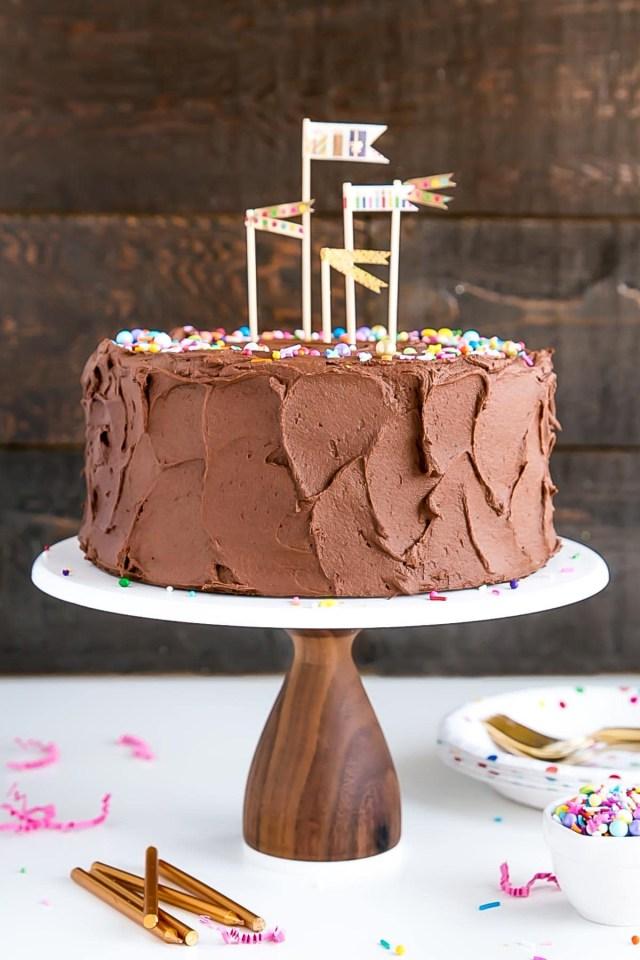 Simple Birthday Cake Recipe Classic Birthday Cake Liv For Cake