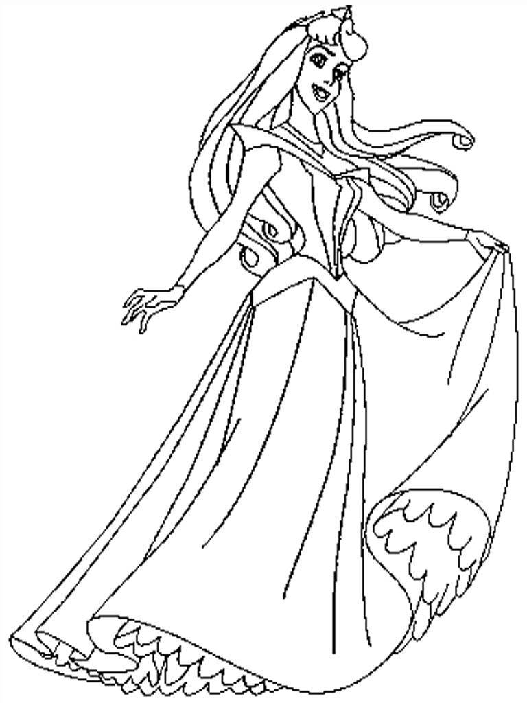 Sleeping Beauty Coloring Pages Sleeping Beauty Coloring Page Plasticulture