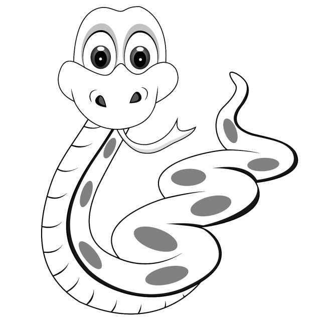 Snake Coloring Pages 13 Coloring Pages Of Snake Print Color Craft