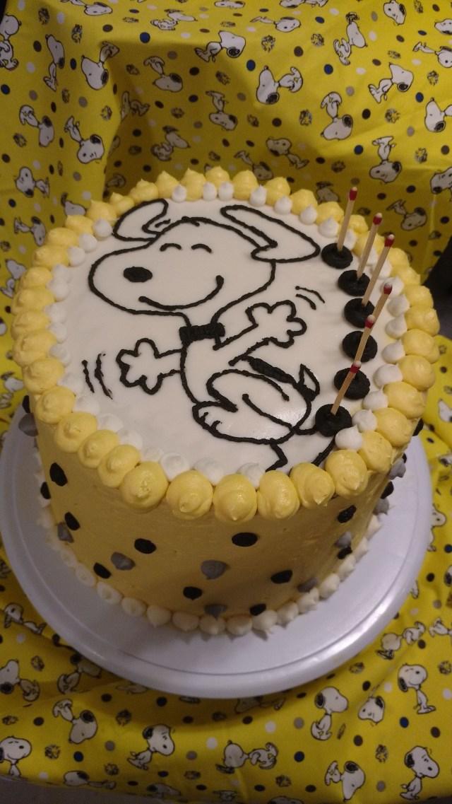 Snoopy Birthday Cake Snoopy Birthday Cake For My Fav Joe Cool Who Turned 60 Once Upon