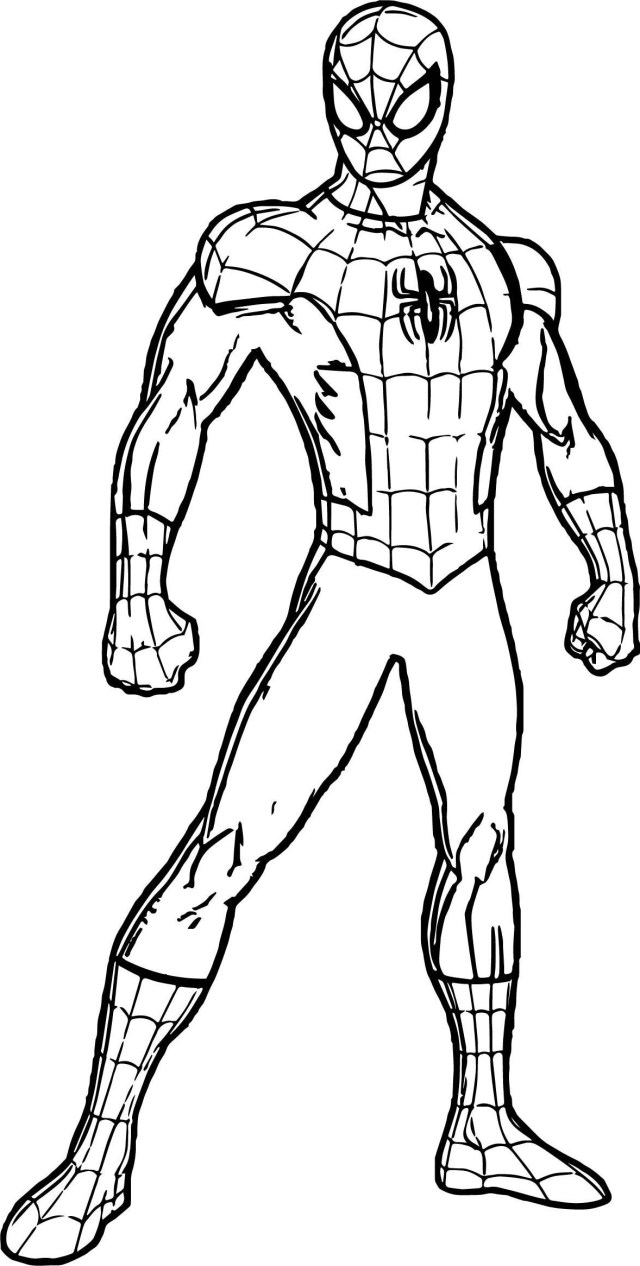 Spider Man Homecoming Coloring Pages Spiderman Coloring Pages Only Coloring Pages