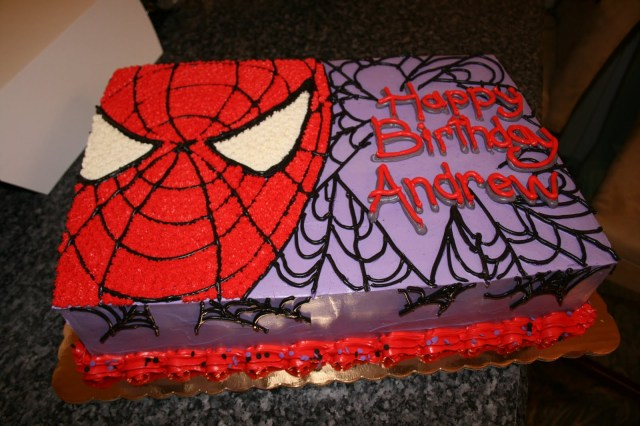 Spiderman Birthday Cakes Desserts Danny Spiderman Birthday Cake