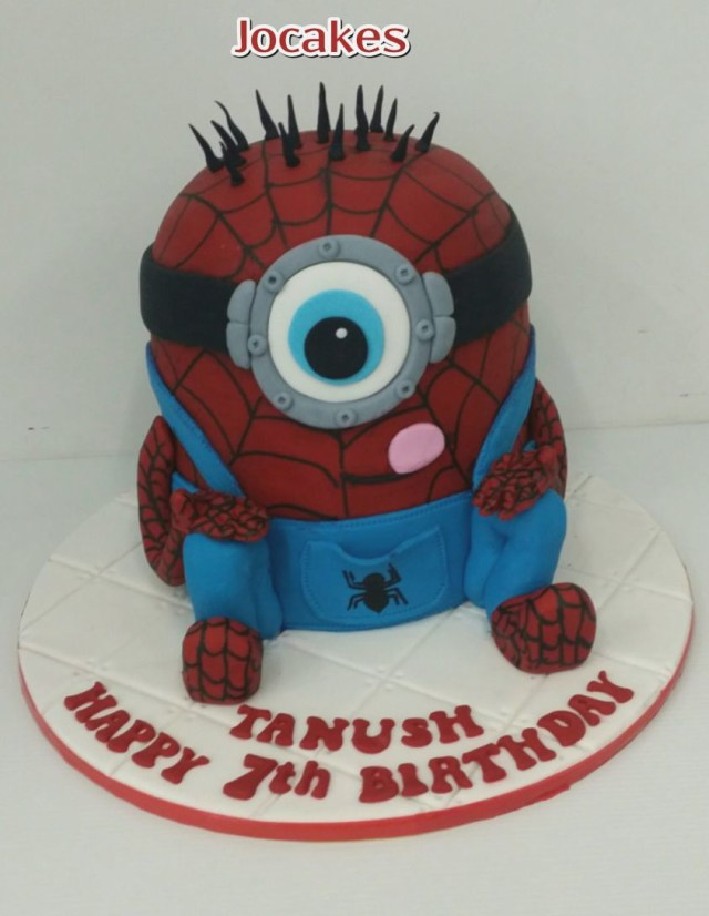 Spiderman Birthday Cakes Spiderman Bday Cake Colorfulbirthdaycakegq