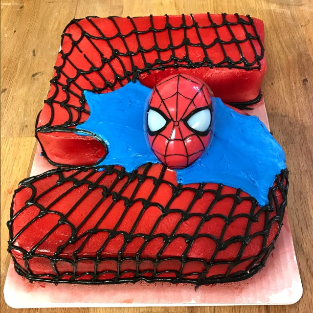 Spiderman Birthday Cakes Spiderman Birthday Cake