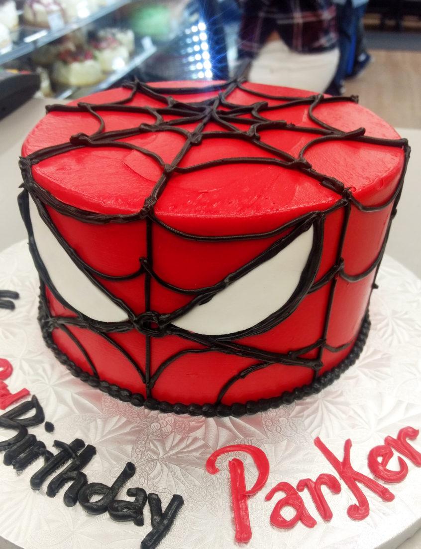 Spiderman Birthday Cakes Spiderman Buttercream Birthday Cake Goodies Bakery
