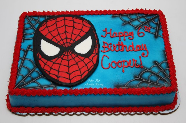 Spiderman Birthday Cakes Spiderman Spider Man Pinte