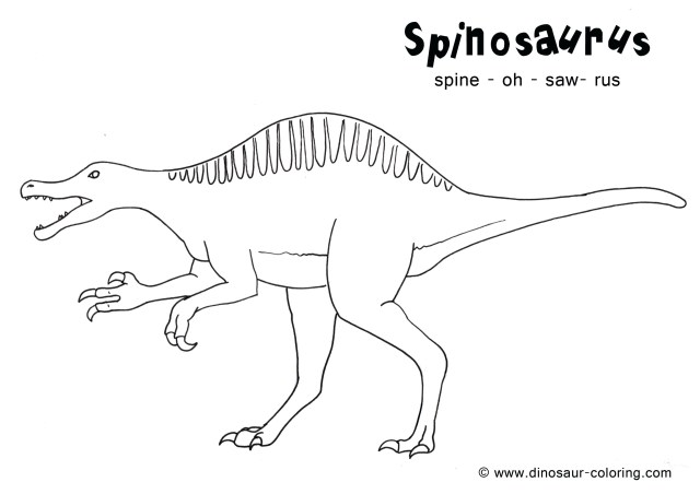 Spinosaurus Coloring Page Ceratosaurus Coloring Pages Best Of Spinosaurus Coloring Pages