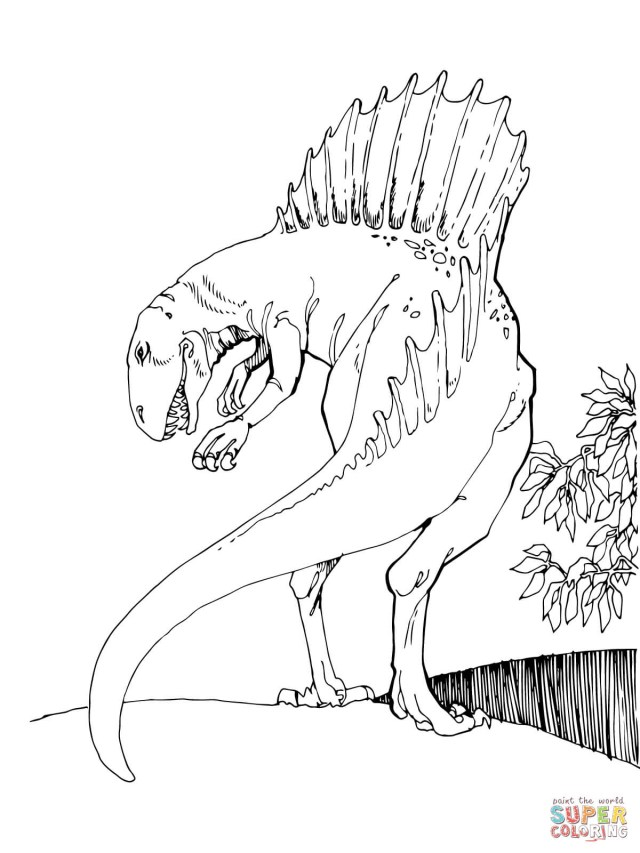 Spinosaurus Coloring Page Spinosaurus Coloring Pages Free Coloring Pages