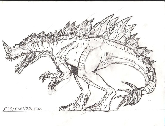 Spinosaurus Coloring Page Spinosaurus Coloring Pages String To Print Chronicles Network