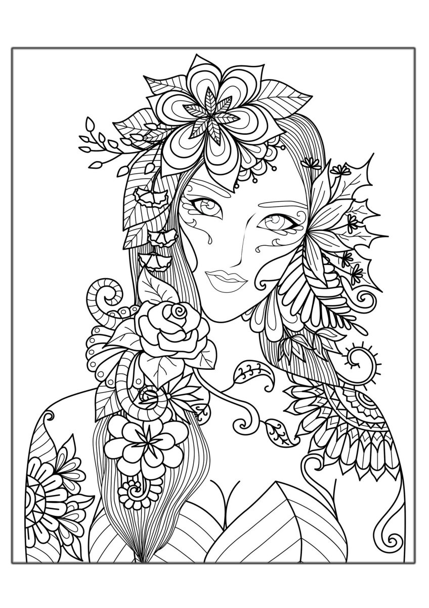 Hope - Anti stress Adult Coloring Pages | 1200x848