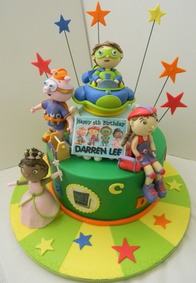 Super Why Birthday Cake Super Why Birthday Cake Cakecentral