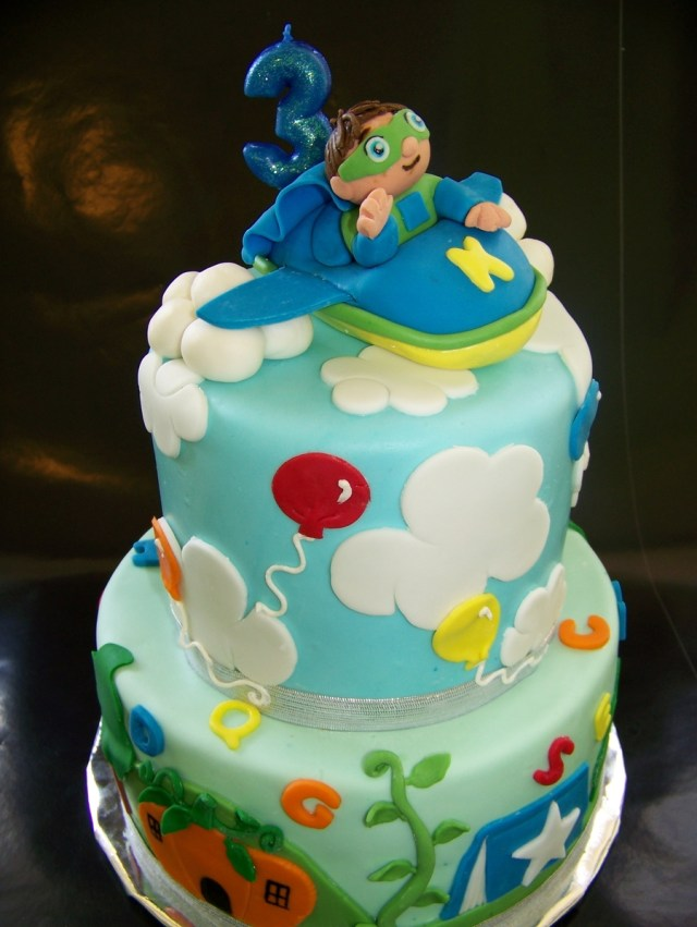 Super Why Birthday Cake Super Why Cake Cakecentral