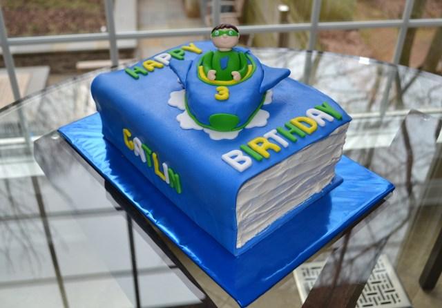 Enjoyable 30 Inspired Photo Of Super Why Birthday Cake Birijus Com Personalised Birthday Cards Paralily Jamesorg