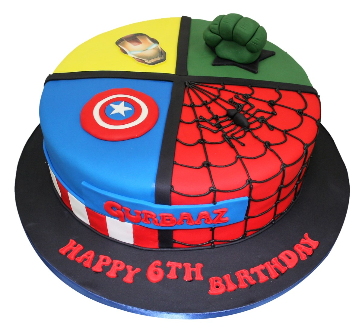 Superb Superhero Birthday Cakes All In One Superheroes Cake Birijus Com Personalised Birthday Cards Cominlily Jamesorg
