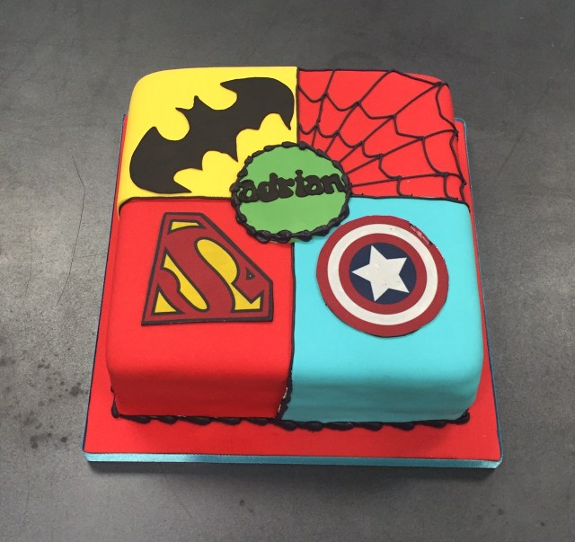 Astounding 30 Inspiration Image Of Superhero Birthday Cakes Birijus Com Personalised Birthday Cards Veneteletsinfo