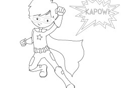 Superhero Printable Coloring Pages Free Printable Superhero Coloring Sheets For Kids Crazy Little