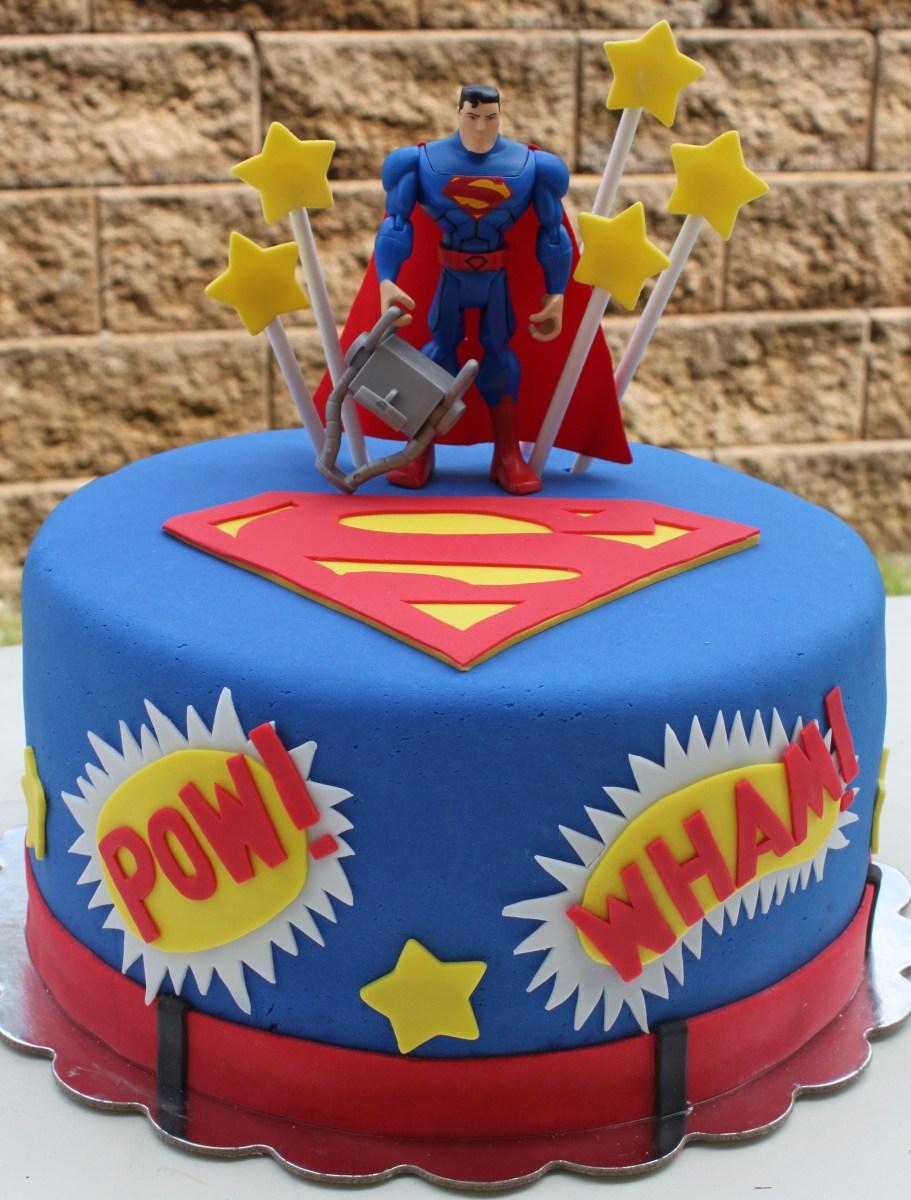 Admirable Superman Birthday Cake Superman Fondant Cake Cakes Cake Superhero Personalised Birthday Cards Epsylily Jamesorg
