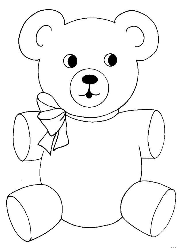 Teddy Bear Coloring Pages Teddy Bear Coloring Page 20 Pages Designatprinting