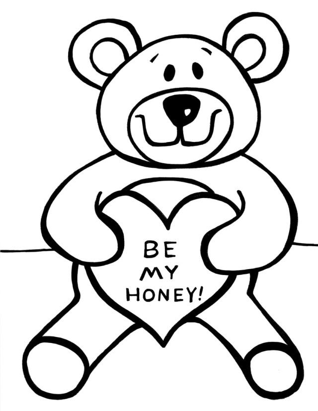 Teddy Bear Coloring Pages Teddy Bear Coloring Pages Images Page Diywordpress
