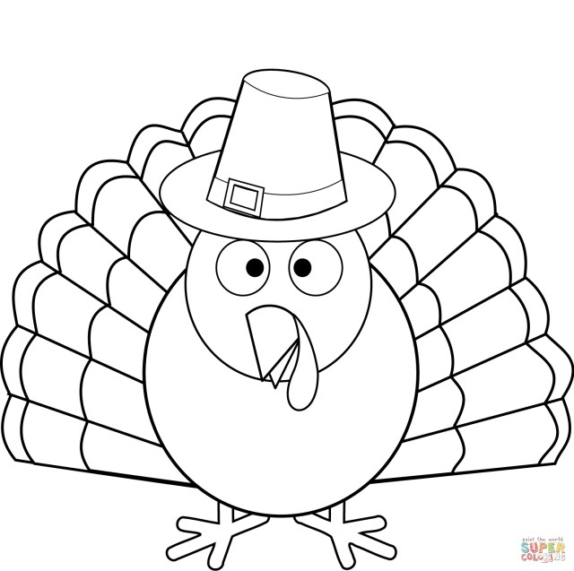 23 Amazing Picture Of Thanksgiving Turkey Coloring Pages
