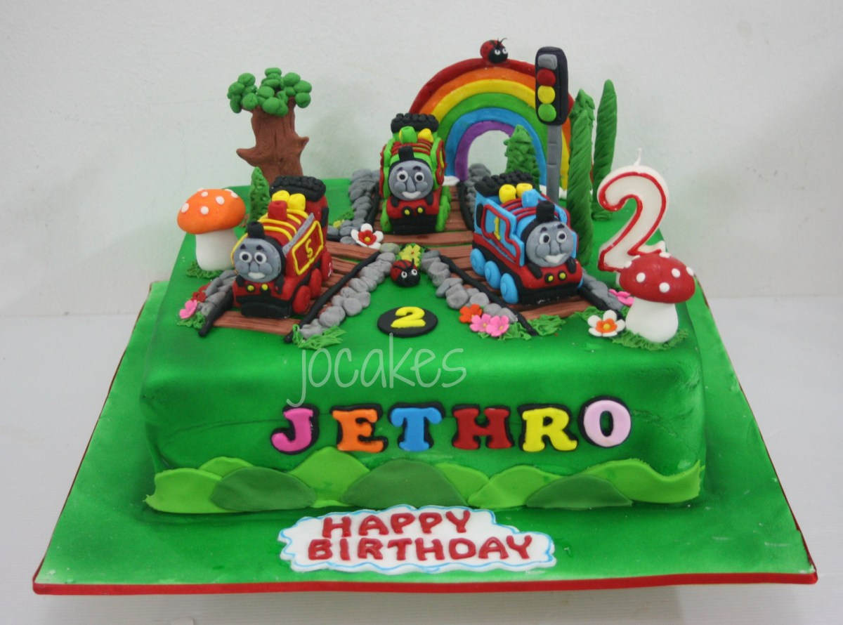 Amazing Thomas And Friends Birthday Cake Thomas And Friends Train Cake For Funny Birthday Cards Online Overcheapnameinfo