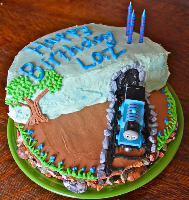 Thomas The Train Birthday Cake How To Make A Super Cool Thomas The Train Birthday Cake Off The
