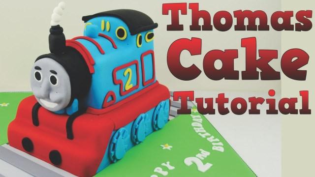 Thomas The Train Birthday Cake How To Make A Thomas The Tank Engine Birthday Cake Tutorial Bake